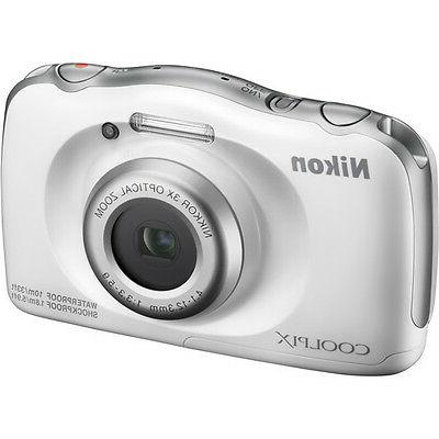 Nikon - Coolpix 13.2-megapixel Digital White