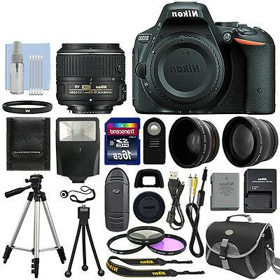 Nikon D5500 DX-format Digital SLR w/ 18-55mm VR II Kit