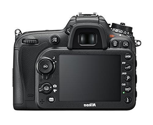 Nikon D7200 DX-format DSLR w/ VR
