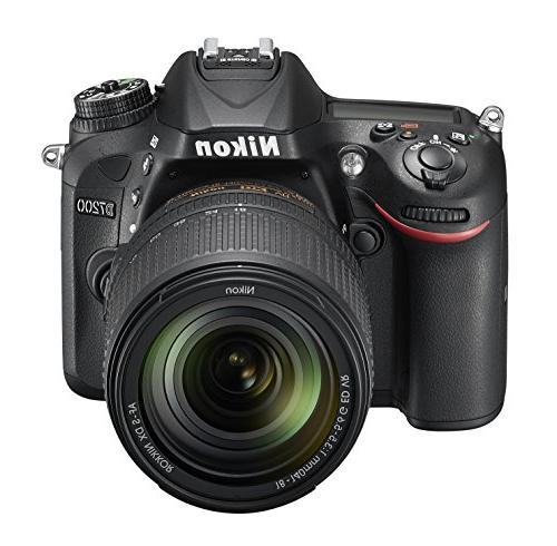 Nikon DX-format DSLR w/ 18-140mm VR