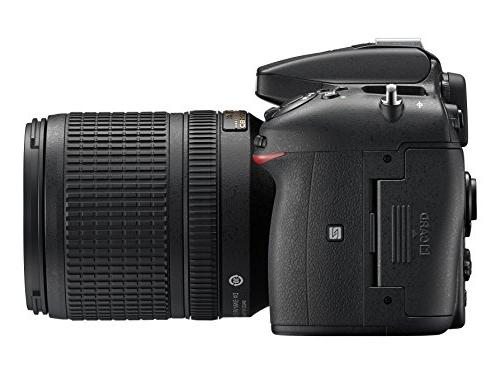 Nikon D7200 DX-format w/ 18-140mm VR Lens