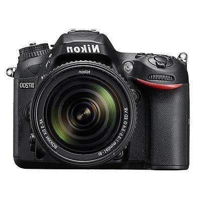 Nikon D7200 DX-format DSLR w/18-140mm VR Lens