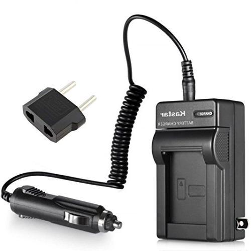 Nikon EN-EL10 AC / DC Replacement Battery Charger Set for Ni