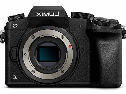 PANASONIC G7 Digital Camera, G VARIO O.I.S. Mirrorless DMC-G7KK
