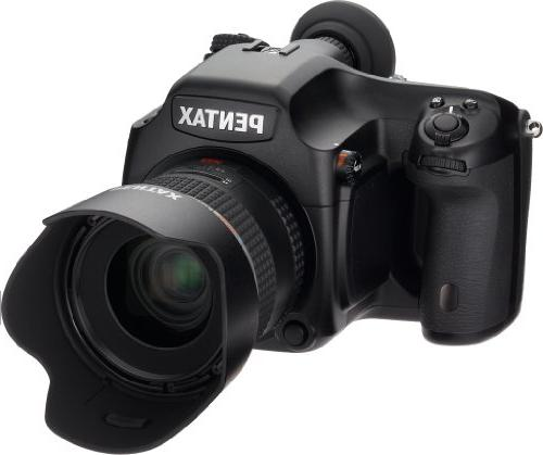Pentax 645D 40MP Medium Format Digital SLR Camera with 3-Inc