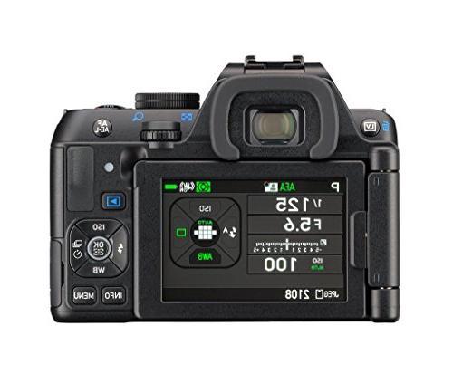 Pentax K-S2 DSLR Two Lens Kit WR & WR