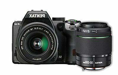 Pentax K-S2 20MP DSLR Two Lens Kit w/18-50mm WR & 50-200mm W