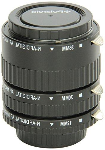 Polaroid Auto Focus DG Macro Extension Tube Set  For Nikon D