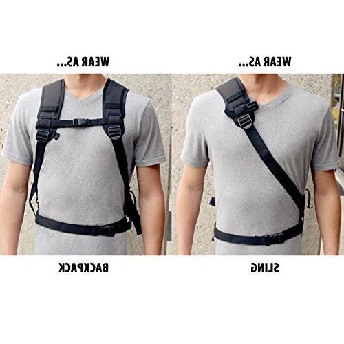 Professional Photo Bag Comfort Strap Design , , Tripod Lens Accessory for Canon EOS T5 , T6i Digital