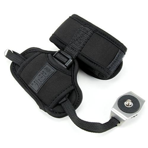 Professional Camera Grip Hand Strap with Neoprene Metal Plate USA - , Fujifilm Nikon , and DSLR , , Point
