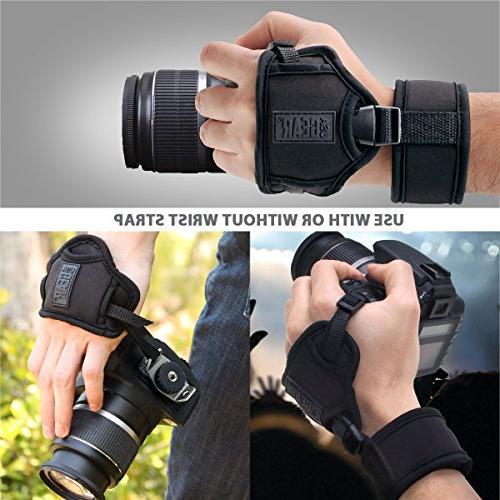 Strap Neoprene Plate by USA - Works With , Fujifilm Nikon , DSLR , Point Shoot Cameras