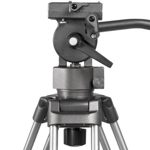 Ravelli AVTP Professional Video Camera Tripod with Fluid Drag