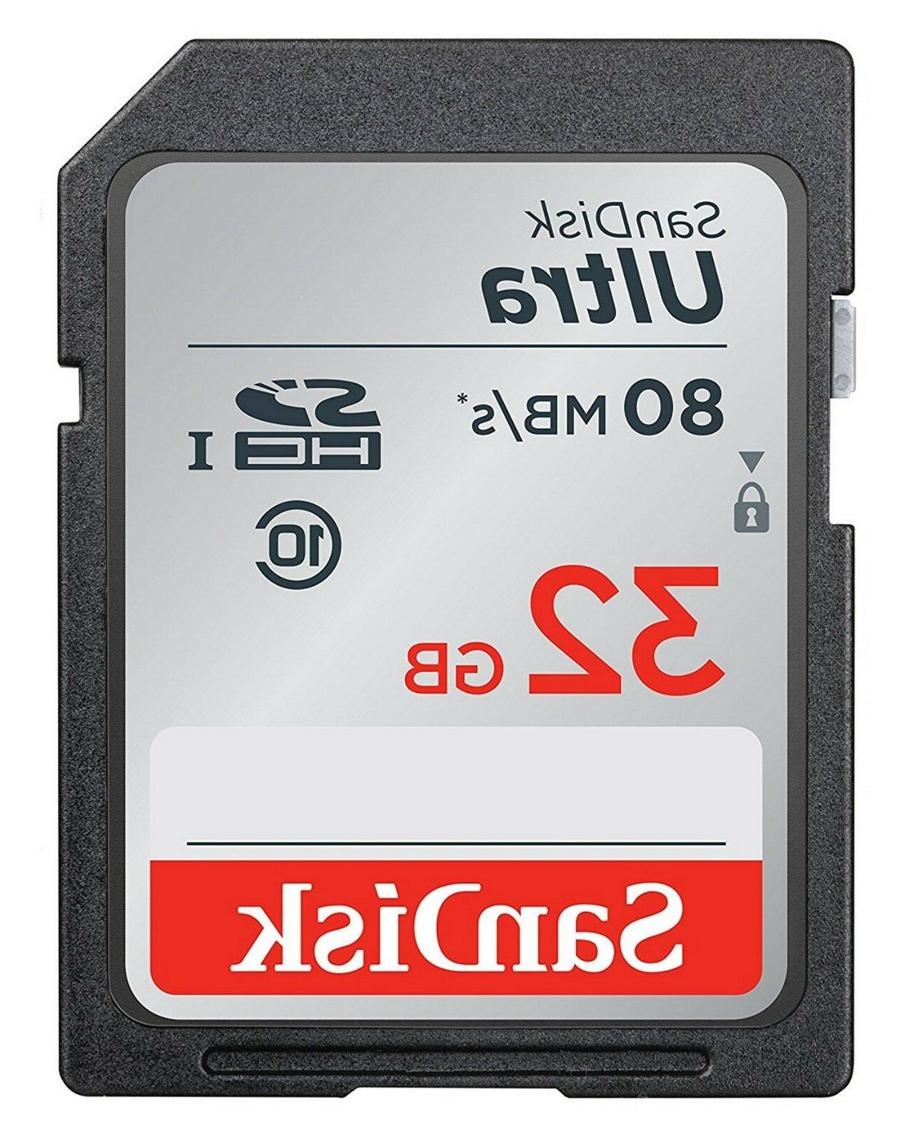 SD Class 10 Ultra UHS-I For Nikon DSLR Camera