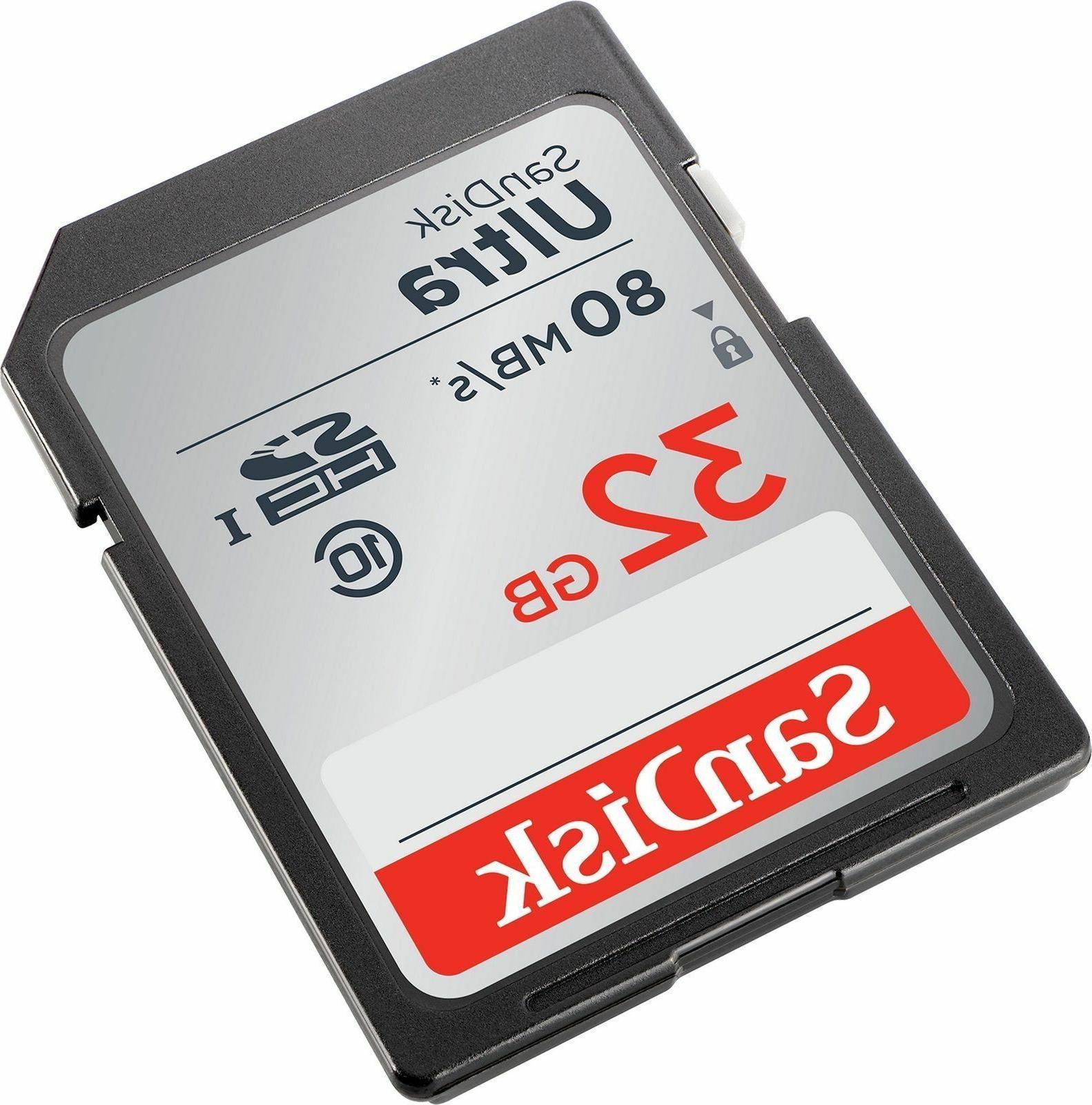 SD Class 10 Ultra UHS-I Nikon Camera New