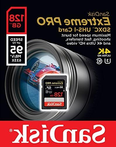 SanDisk Extreme 128GB up -