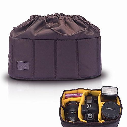 Selens High-Capacity Shockproof DSLR SLR Camera Padded Bag C