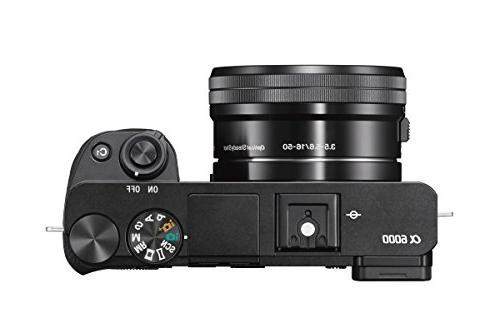 Sony Mirrorless Digital Camera LCD w/16-50mm