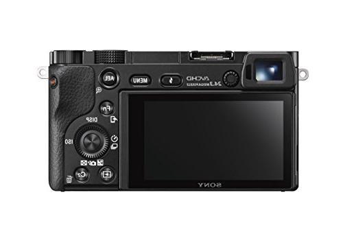 Sony Mirrorless Digital Camera with 3.0-Inch w/16-50mm Power Lens