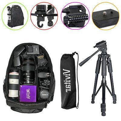 Tripod Backpack Bag Accessory Kit for Nikon D5500 D5300 D340