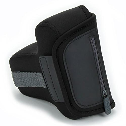 USA DSLR Case SLR Sleeve , Loop and Accessory by USA With / Canon EOS Rebel / Pentax K-70 Many More