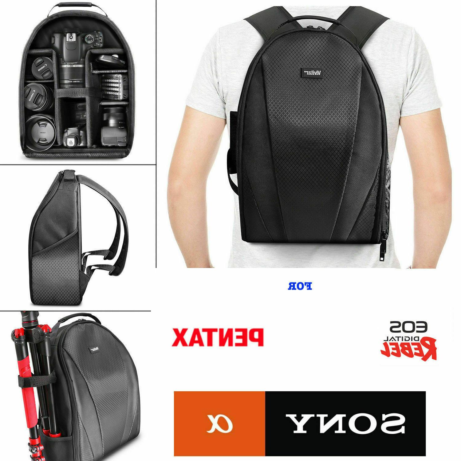 camera backpack bag for dslr and lens