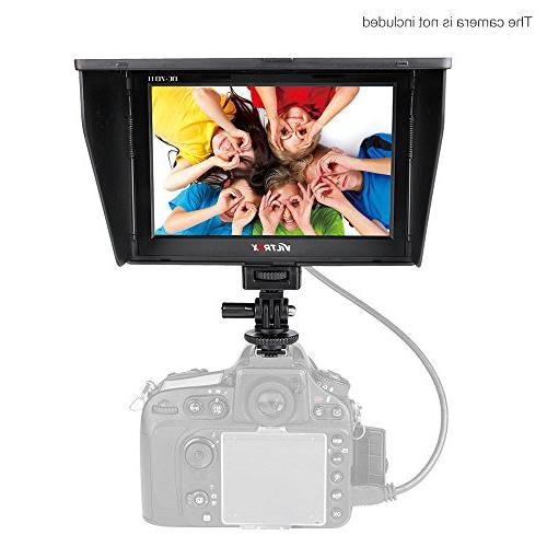 Viltrox DC-70 Clip-on Color 7'' TFT LCD HD Monitor HDMI AV I