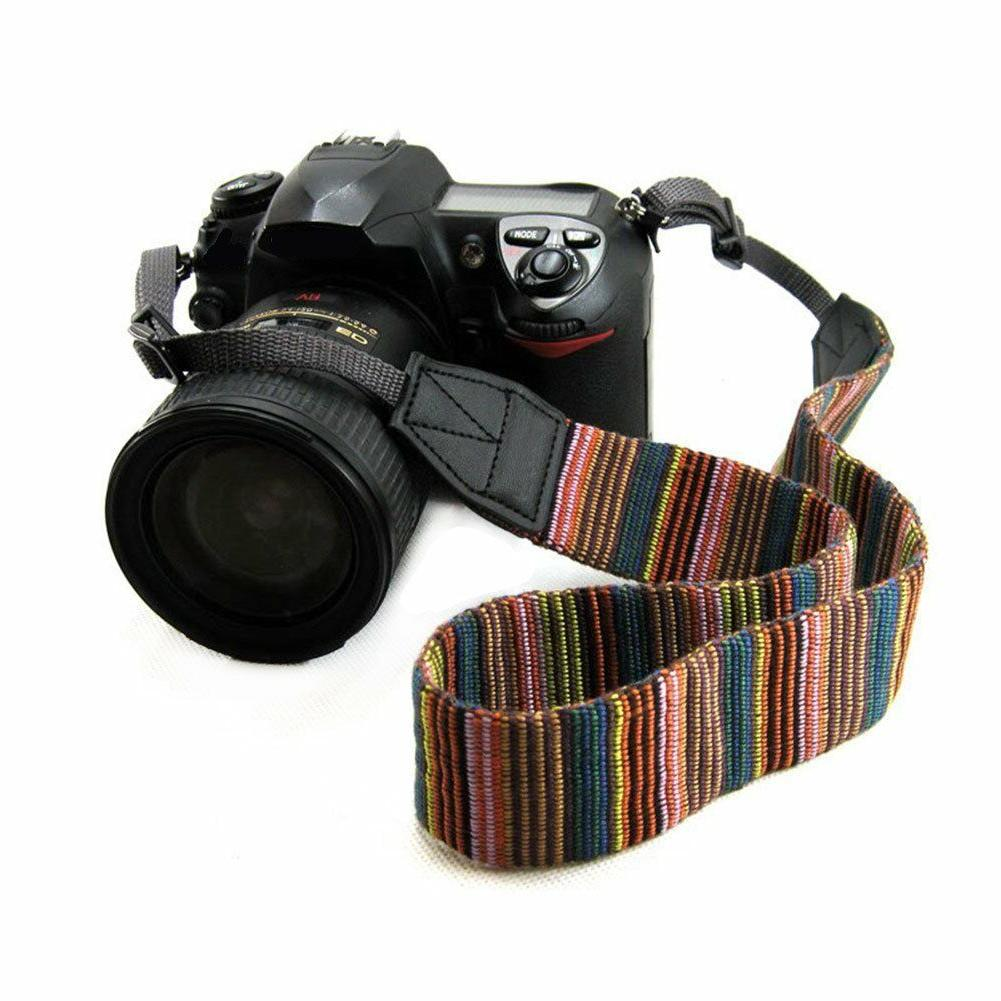 Vintage Shoulder Sling Belt Neck Strap for Camera SLR/DSLR N
