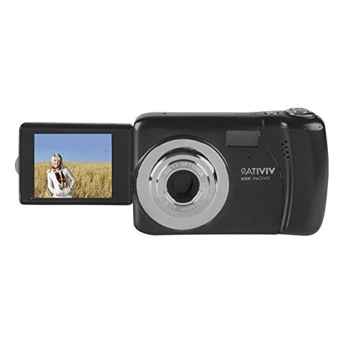 """Vivitar 20.1 MP Digital Camera with 1.8"""" LCD, Colors and Sty"""