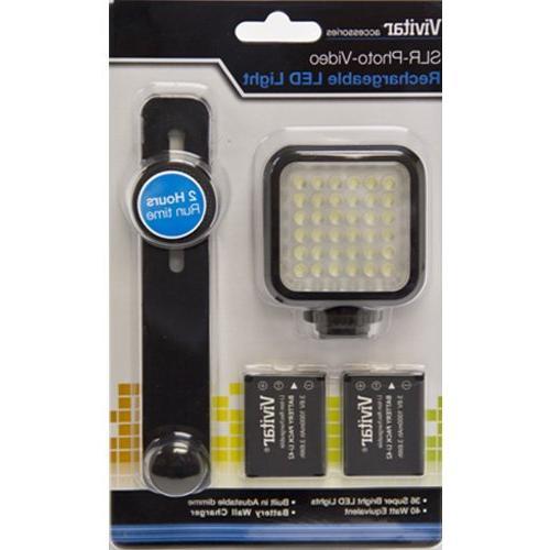 Vivitar SLR/Photo/Video LED