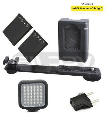 Vivitar VIV-VL-400 SLR/Photo/Video Rechargeable LED Light