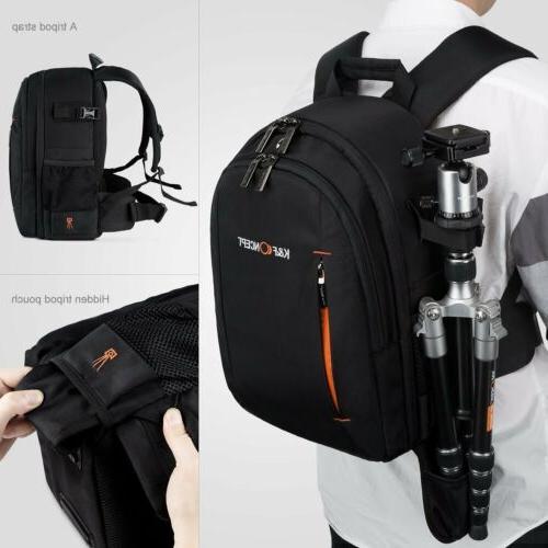Women's DSLR Camera Bag Insert Backpack fr Sony