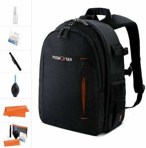 Women's DSLR Camera Backpack Bag Insert Case Travel Backpack
