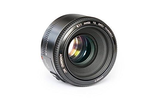YONGNUO YN50mm F1.8 Standard Prime Lens Large Aperture Auto