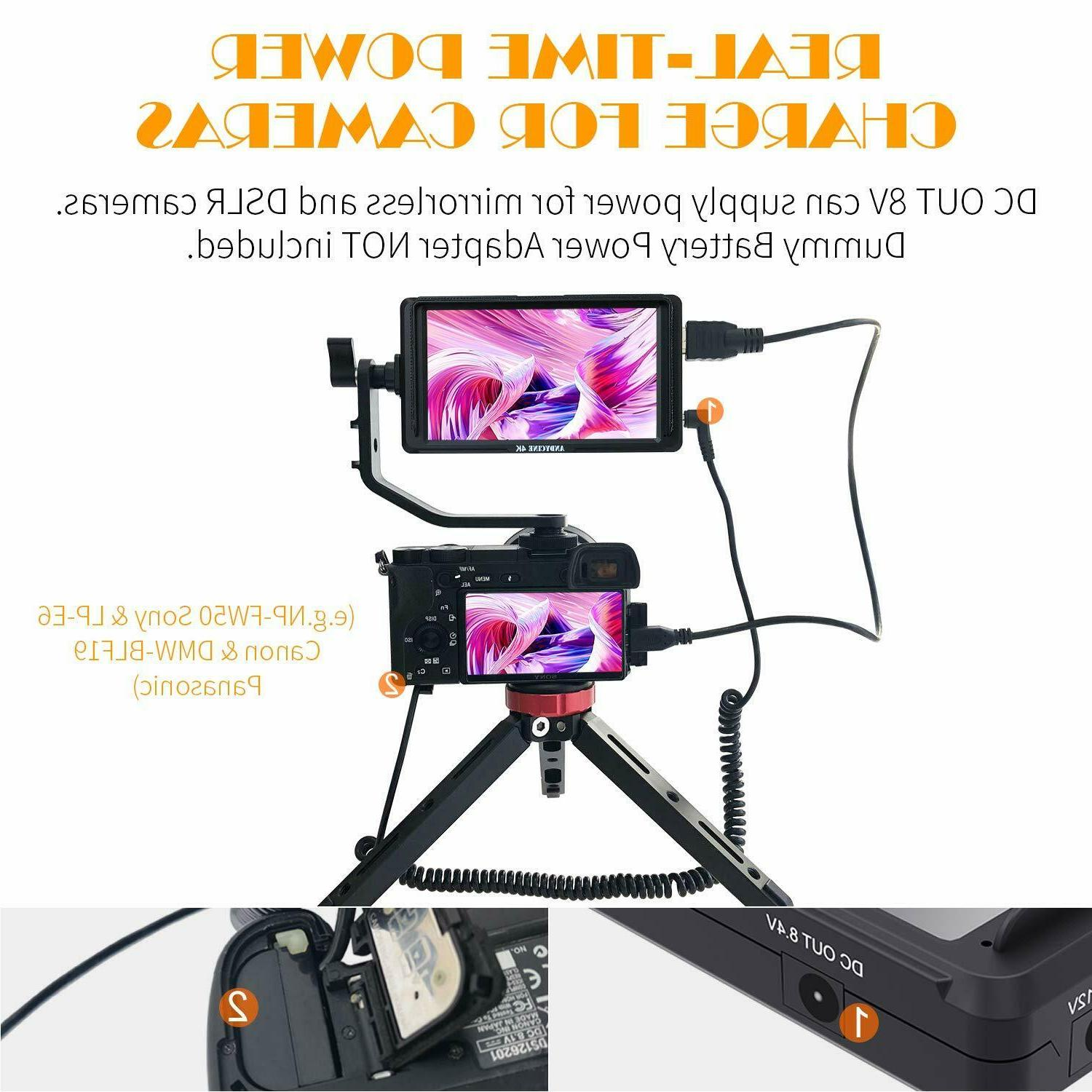 ANDYCINE A6 DSLR HDMI Camera Field Monitor 1920x1080