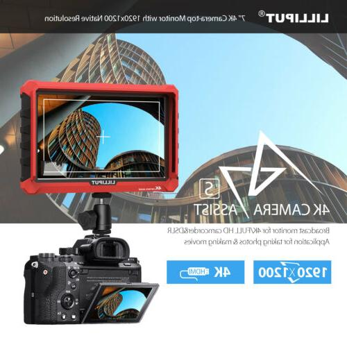Lilliput 4K field monitor DJI M