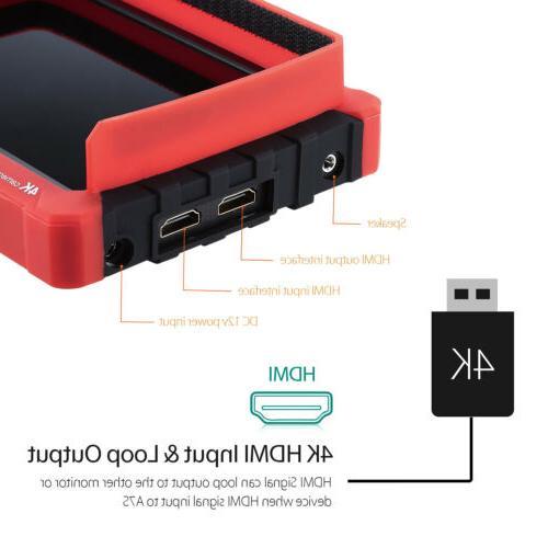 """Lilliput A7s 7"""" 1920x1200 4K field monitor DJI M"""