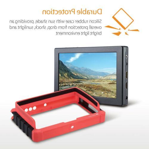 """Lilliput 7"""" 1920x1200 4K HDMI DSLR Camera field DJI M LP-E6"""