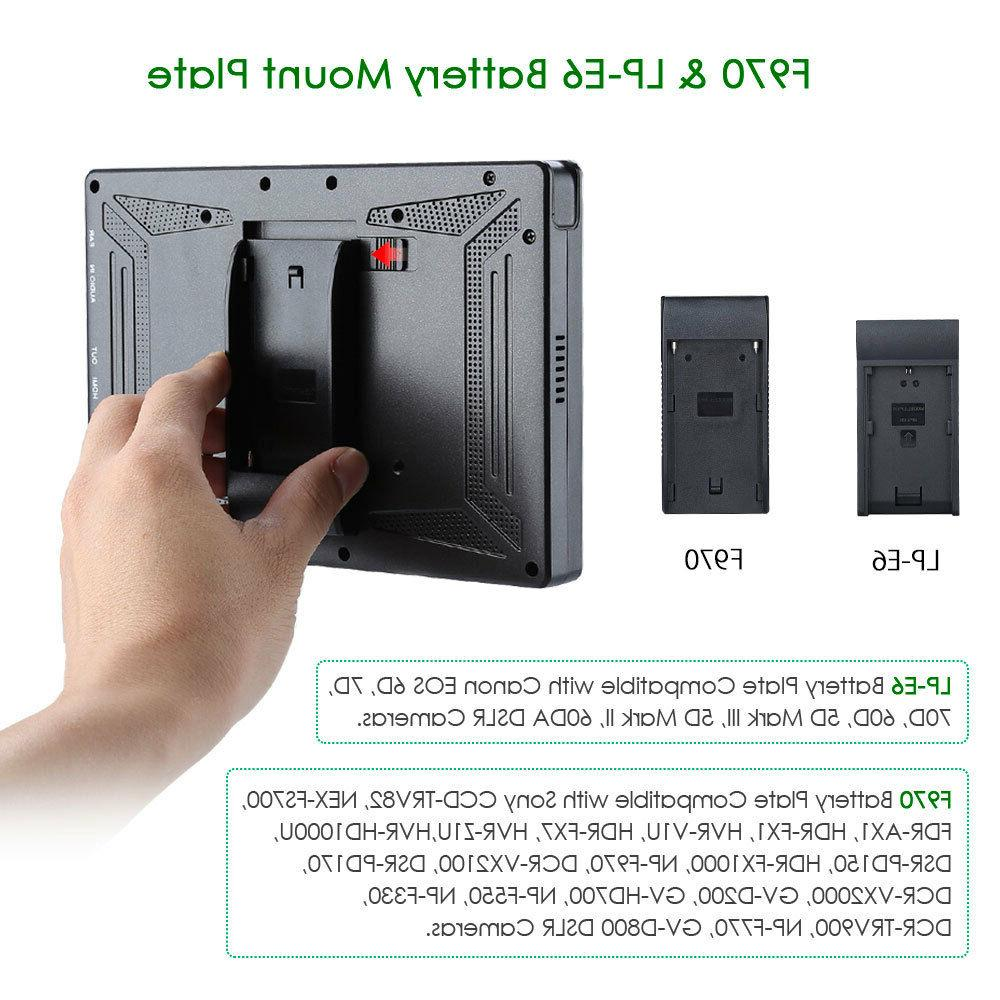 Eyoyo 7-inch 1920x1200 4K DSLR Camera Field Canon Sony