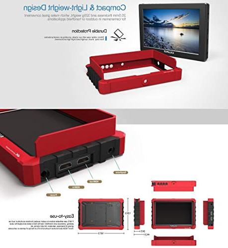 """Lilliput 7"""" IPS Monitor DSLR A7S GH5 Canon Mark IV SELLER VIVITEQ"""