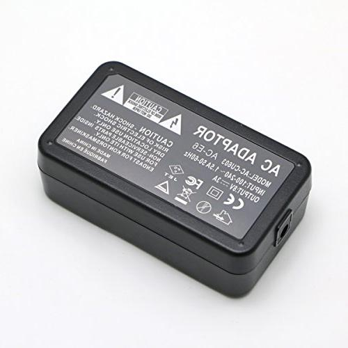 Glorich AC Power Adapter kit for Canon EOS II,