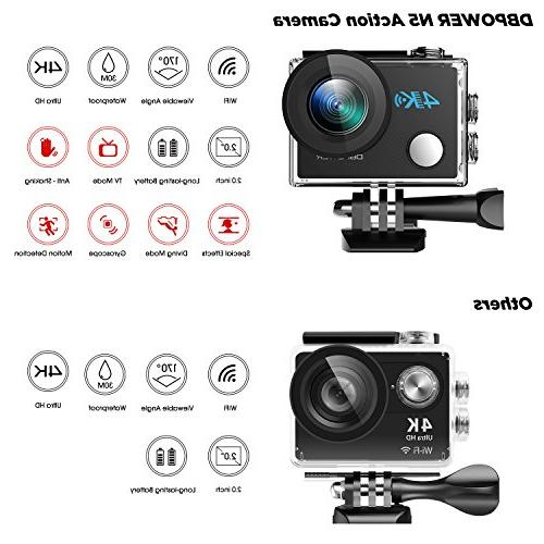 Action HD Sports Wide-Angle Including Accessories Kit