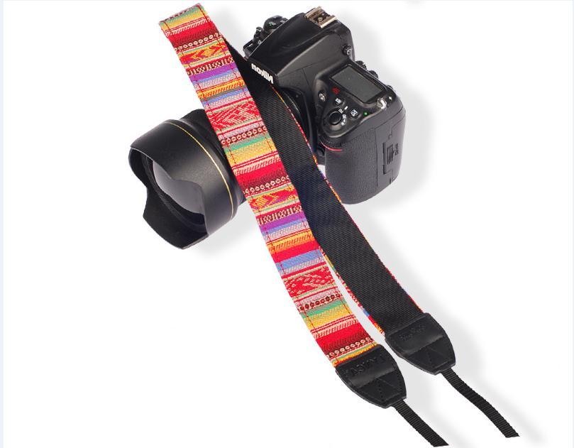 Adjustable Camera Shoulder Belt for Nikon Canon DSLR SLR
