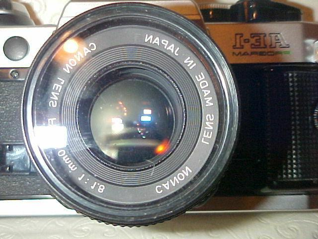 Canon AE-1 Program 35mm Film Manual 1:1.8 Lens Battery