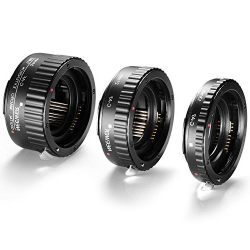 Neewer AF Auto Focus Tube Set for Canon DSLR Cameras as 5D II 1D IV,7D 20D 30D 40D 50D 300D 400D 550D 700D