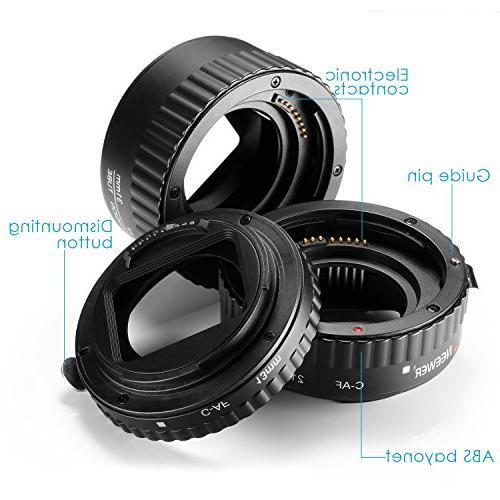 Neewer 13-21-31mm AF Focus ABS Tube DSLR Cameras 5D Mark II 1D Mark III IV,7D 10D 40D 300D 350D 400D 550D 700D