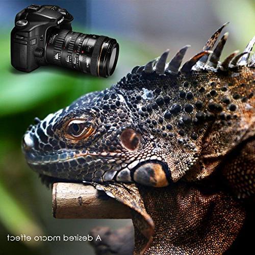 Neewer Focus ABS Macro Tube Set for Canon DSLR Cameras Such 5D Mark 1D Mark IV,7D 10D 20D 30D 40D 50D 350D 400D 500D