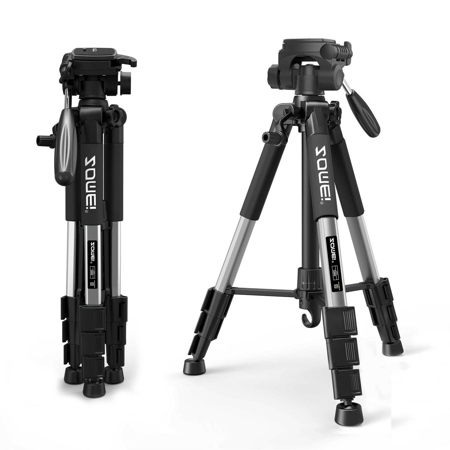 Professional Aluminium Portable Travel Tripod for Canon DSLR