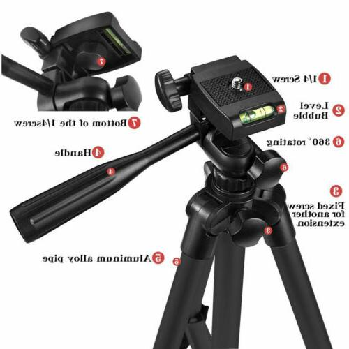 Aluminum Stand Holder for Nikon Cell iPhone DSLR