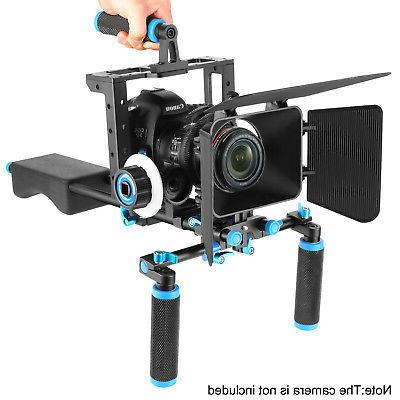 Neewer Movie Rig Video Cage for Canon Nikon