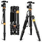 Andoer Light Weight and Compact Camera Tripod Aluminum Alloy